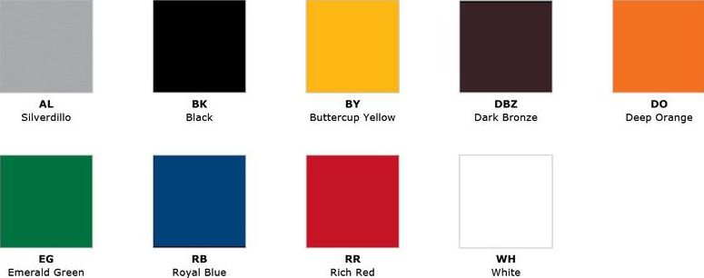 Ral Color Chart Pace Illumination